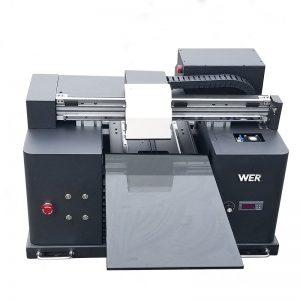 2017便宜A4尺寸台式平板uv led平板數碼打印機WER-E1080UV