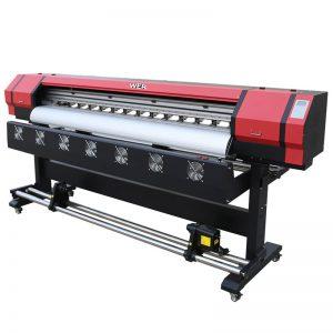 6英尺打印視頻WER-ES1901 DX5 / DX7頭環保溶劑打印機廣州供應商