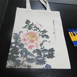 帆布袋印花樣品採用A2 T卹打印機WER-D4880T