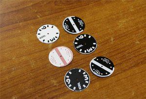 錶盤由WER-E2000UV 2打印