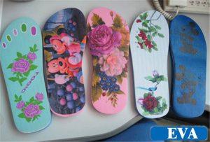 EVA-拖鞋印花樣品從 -  WER-EP6090UV