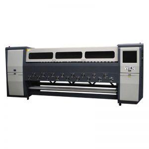 優質K3404I / K3408I溶劑型打印機3.4m重型噴墨打印機