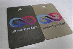 A1 UV印刷機WER-EP6090UV上的金屬印刷樣品