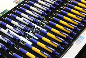 WER-EH4880UV上的鋼筆樣品