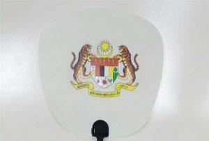 塑料風扇樣品由A1尺寸uv打印機6090UV打印