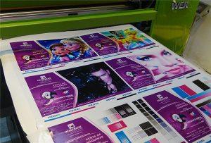 印刷樣品的乙烯基 - 從-WER-EP6090UV打印機