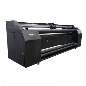 WER-E1802T 1.8米直接與2 * DX5昇華打印機的紡織品打印機