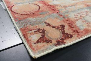WER G2513UV打印機的打印樣本地毯