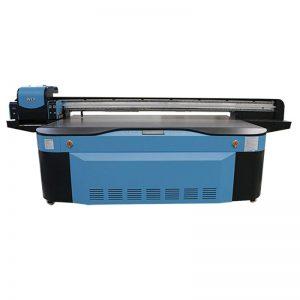 全彩CMYK LCLM白色清漆UV平板打印機3D WER-G2513UV